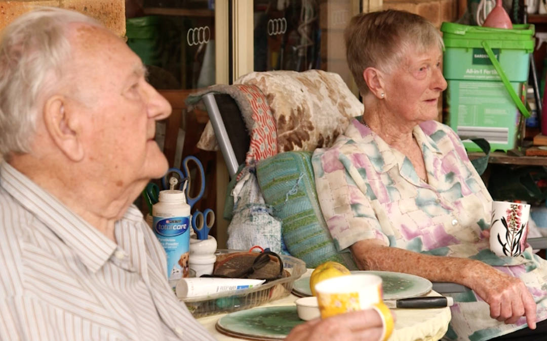 Long life and love: wisdom from two over-90s